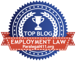 Named A Top Employment Law Blog